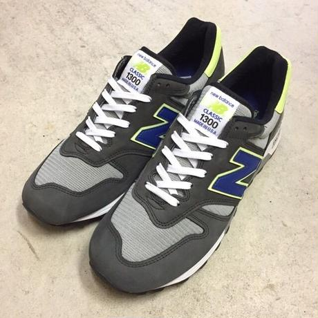 "[NewBalance] ""M1300BK"" MADE IN USA -gray×blue×neon green- (¥21,800-+tax)"