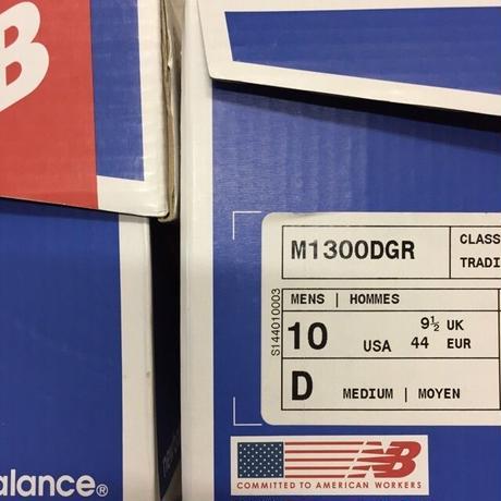 "[NewBalance] ""M1300DGR"" MADE IN USA -gray×purple- (¥21,800-+tax)"