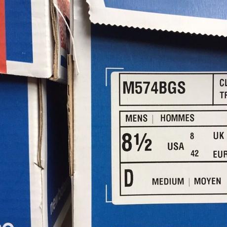 "[NewBalance] ""M574BGS"" -navy- (¥12,500-+tax)"