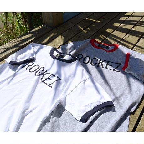 """[ THE ROCKEZ ] """"RING TEE"""" -RED×WHITE- (¥4,200-+tax)"""