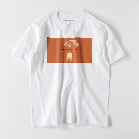 haven't tried me yet ? / t shirt orange