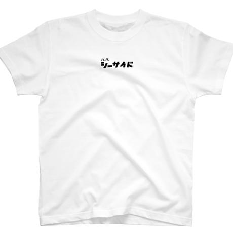 shirt white / parlor she, side kana