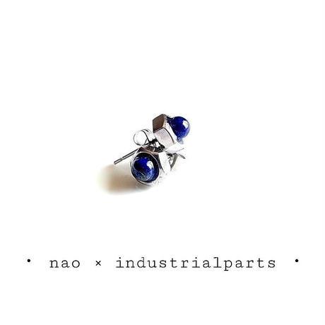 ナットピアス-ラピスラズリ