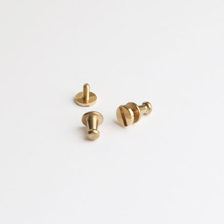 SNAP-KEYRING  /  S          Brass parts