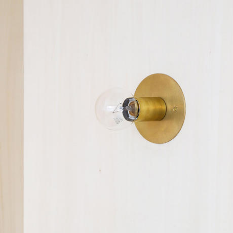 A05-S / BR E26 BRACKET LAMP / SOLID BRASS