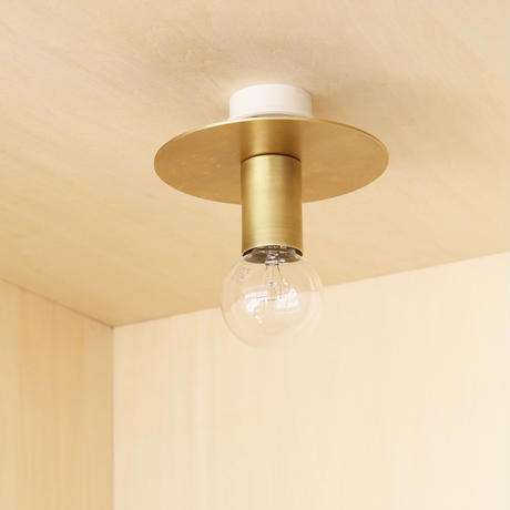 A04-C / BR E26 CEILING SOCKET LAMP HOLDER / SOLID BRASS