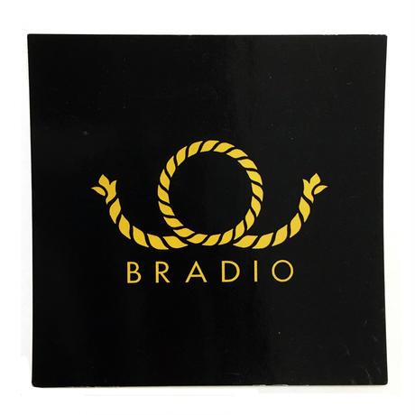 BRADIO ステッカー