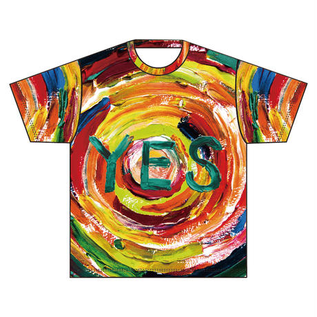 YES 総柄 Tee