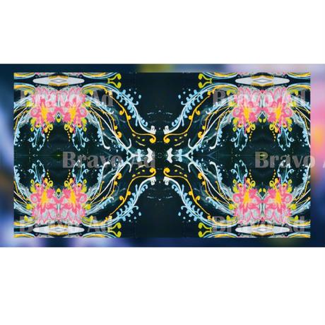 saka-05-00005 バーチャル背景 シュガーアート
