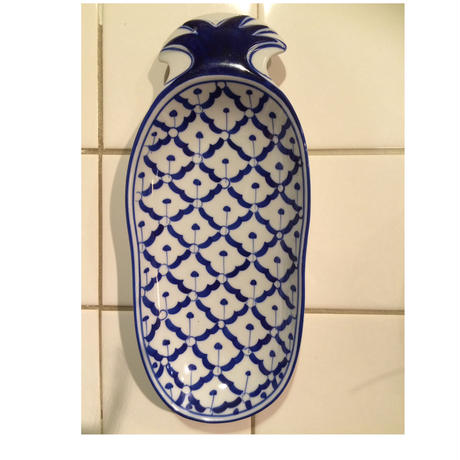 パイナップル陶器皿