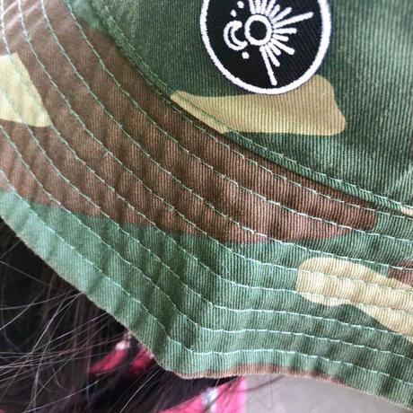 刺繍ロゴ バケットハット