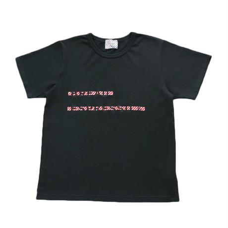 コラボロゴTシャツ (チャコール)