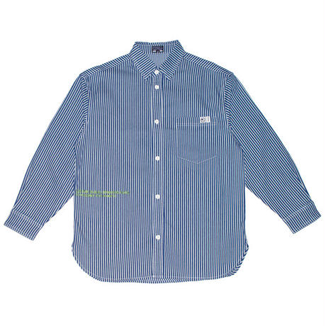 GREAT NUMBERS HICKORY BUTTON UP SHIRT