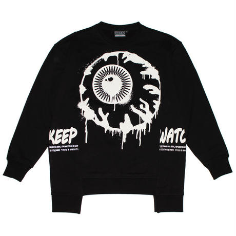 PAINT KEEP WATCH CREW NECK