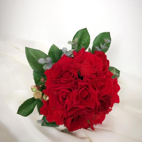 Bouquet&Boutonniere バラ ナチュラルステム型(レッド系)