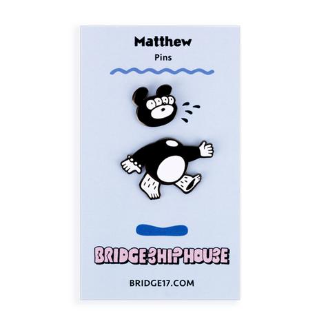 Cut Matthew Pins Set