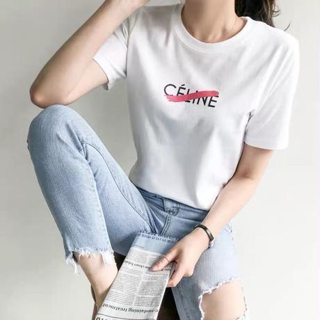 ネオンスラッシュロゴtシャツ