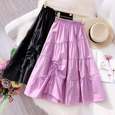 リボン付きスカート