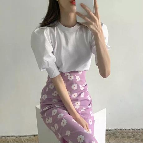 フラワースカート