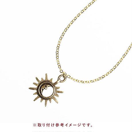 ケーブルチェーンネックレス3 ゴールド 40cm(BCCN0026)