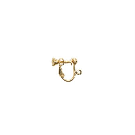 イヤリング ネジ式 ゴールド 1ペア(BCCH0473)