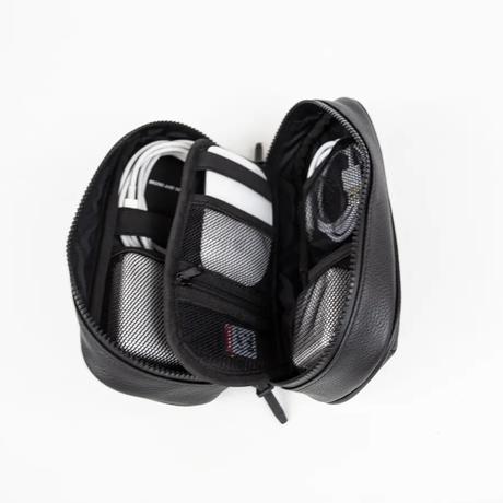 【WEB限定】 FLAME -MOON LEATHER ver.-(色 : BLACK)+TPG-multi pouch (BBOM-983) ※特別価格24,255円