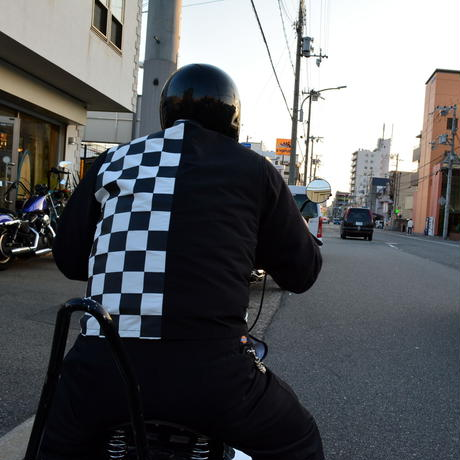 SCRAMBLE Vest / Checker Model