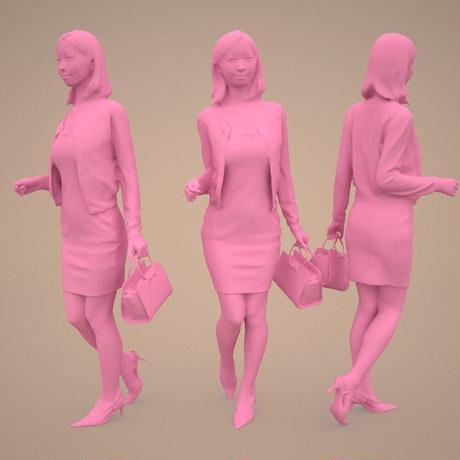 3D人物素材  [Posed]  093_Aya