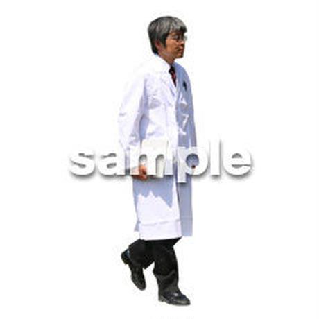 人物切抜き素材 医療・シニア車椅子編 D_037