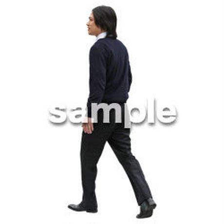 人物切抜き素材 ベーシックファッション編 P_489