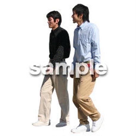 人物切抜き素材 リビング・散歩編 I_081