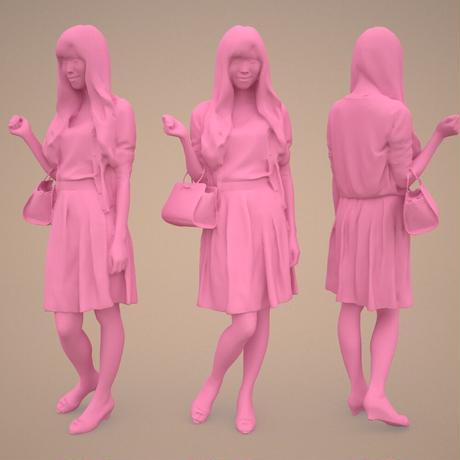 3D人物素材  [Posed]  079_Yui