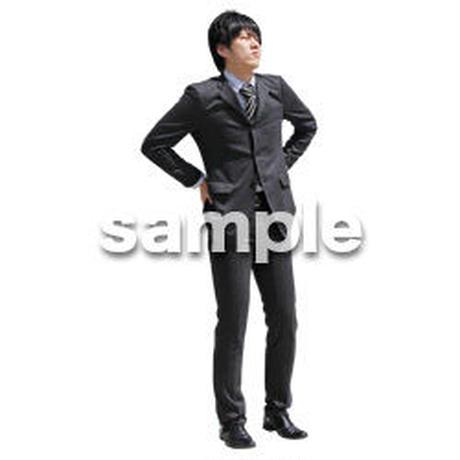 人物切抜き素材 ベーシックファッション編 P_476