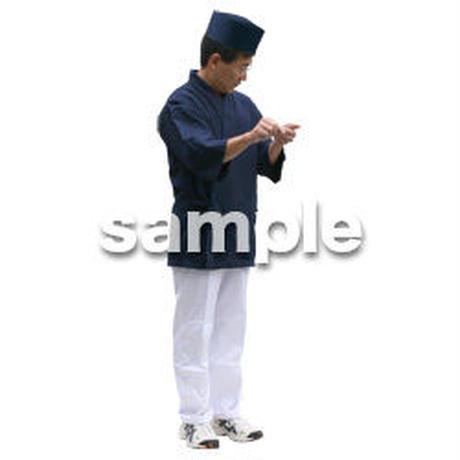 人物切抜き素材 ワーキング編 K_204