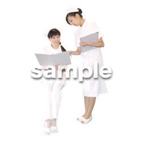 人物切抜き素材 医療・シニア車椅子編 D_140