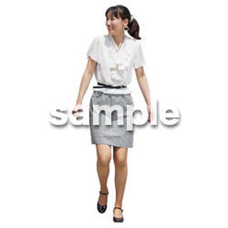 人物切抜き素材 ベーシックファッション編 P_171