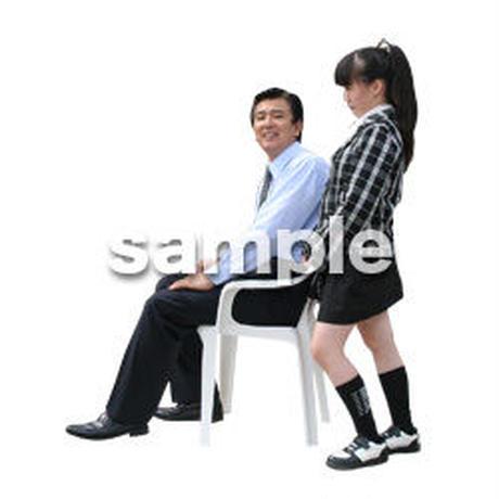 人物切抜き素材 ファミリー編 F_270