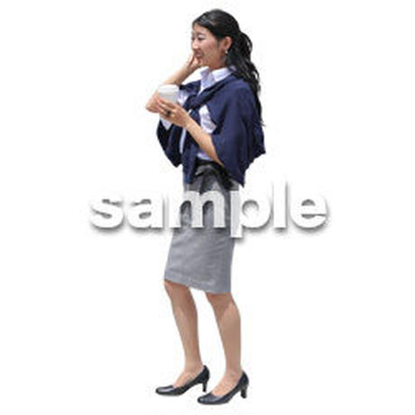 Cutout People ビジネス-日本人 EE_407