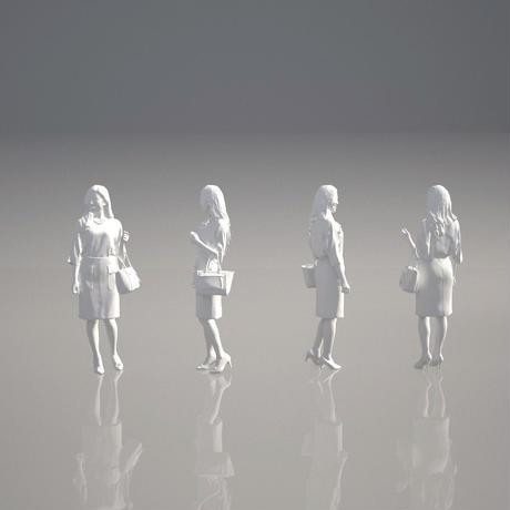 3D人物素材 [ お試し版 ] 051_W_Mao