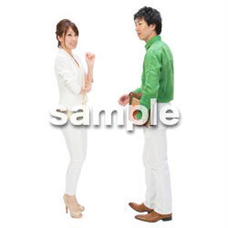 Cutout People ビジネス-日本人 EE_183
