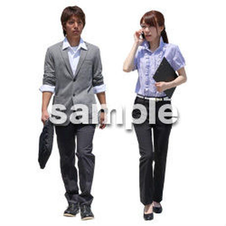 Cutout People ビジネス-日本人 EE_191