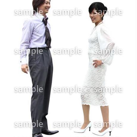 人物切抜き素材 アーバン・ショッピング編 M_043