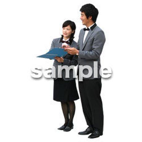 人物切抜き素材 ワーキング編 K_008