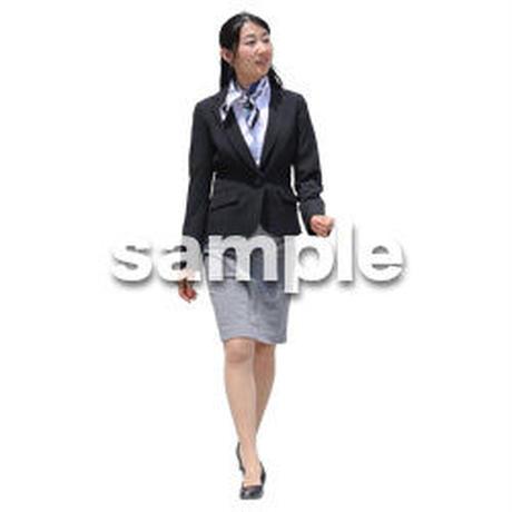 Cutout People ビジネス-日本人 EE_391