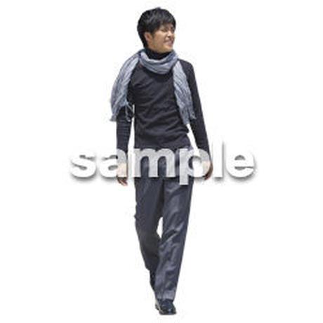 人物切抜き素材 ベーシックファッション編 P_496