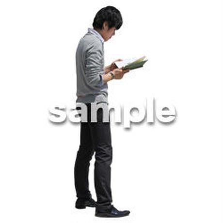 人物切抜き素材 ベーシックファッション編 P_363