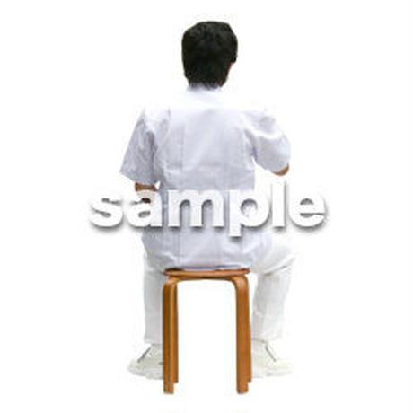 人物切抜き素材 医療・シニア車椅子編 D_024
