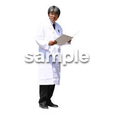 人物切抜き素材 医療・シニア車椅子編 D_042