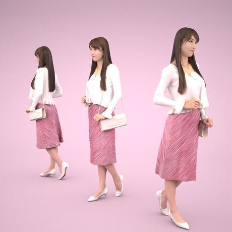 3D人物素材  [Posed]  005_Rika