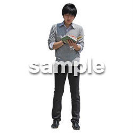 人物切抜き素材 ベーシックファッション編 P_361